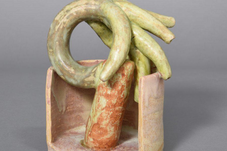 Beate Kuhn – untitled –2015, 18x13x10cm – Galerie Metzger Gallery Kunst Keramik Plastik Art Ceramics Sculpture