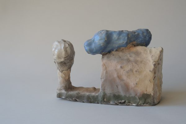 Hans Fischer –Hier –2017, 18x28x10cm –Galerie Metzger Gallery Collect London Kunst Keramik Plastik Art Ceramics Sculpture