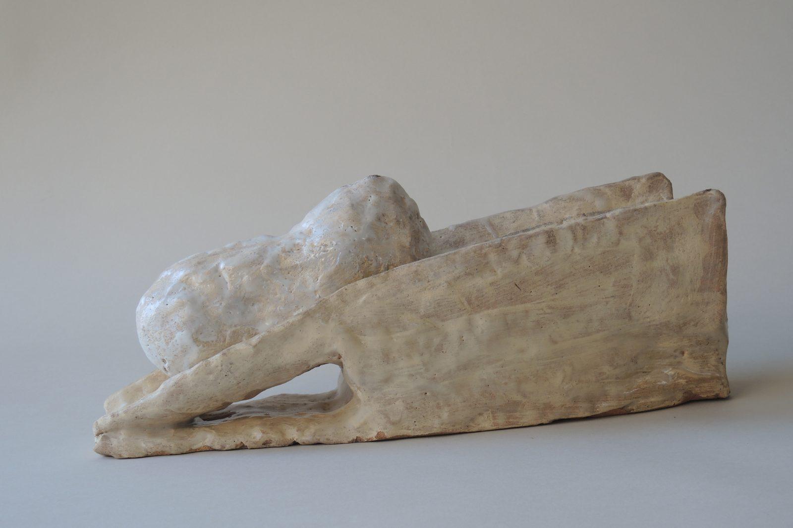 Hans Fischer –Keil –2017, 15x35x10cm –Galerie Metzger Gallery Collect London Kunst Keramik Plastik Art Ceramics Sculpture