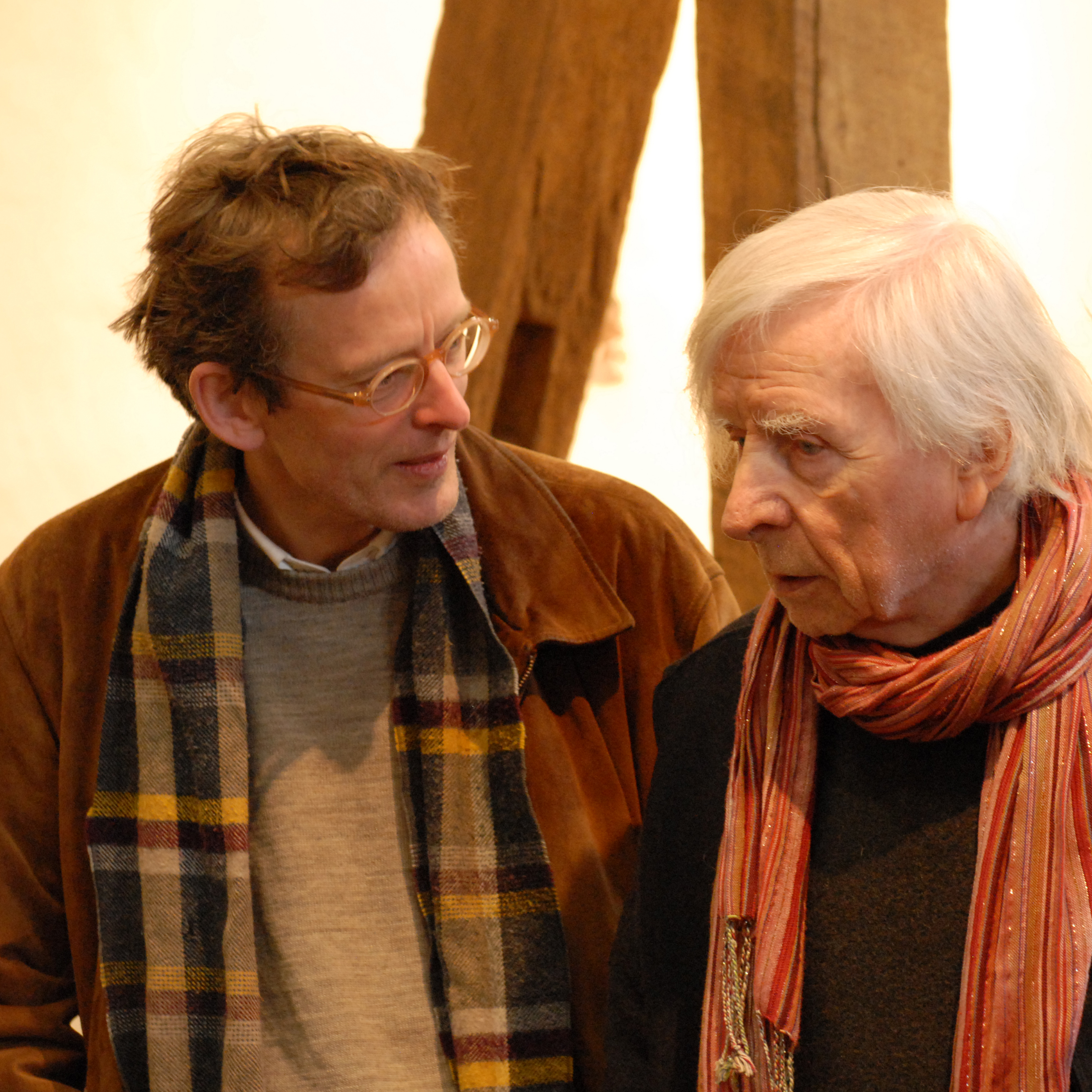 Hans Fischer und Klaus Lehmann im Gespraech 2014