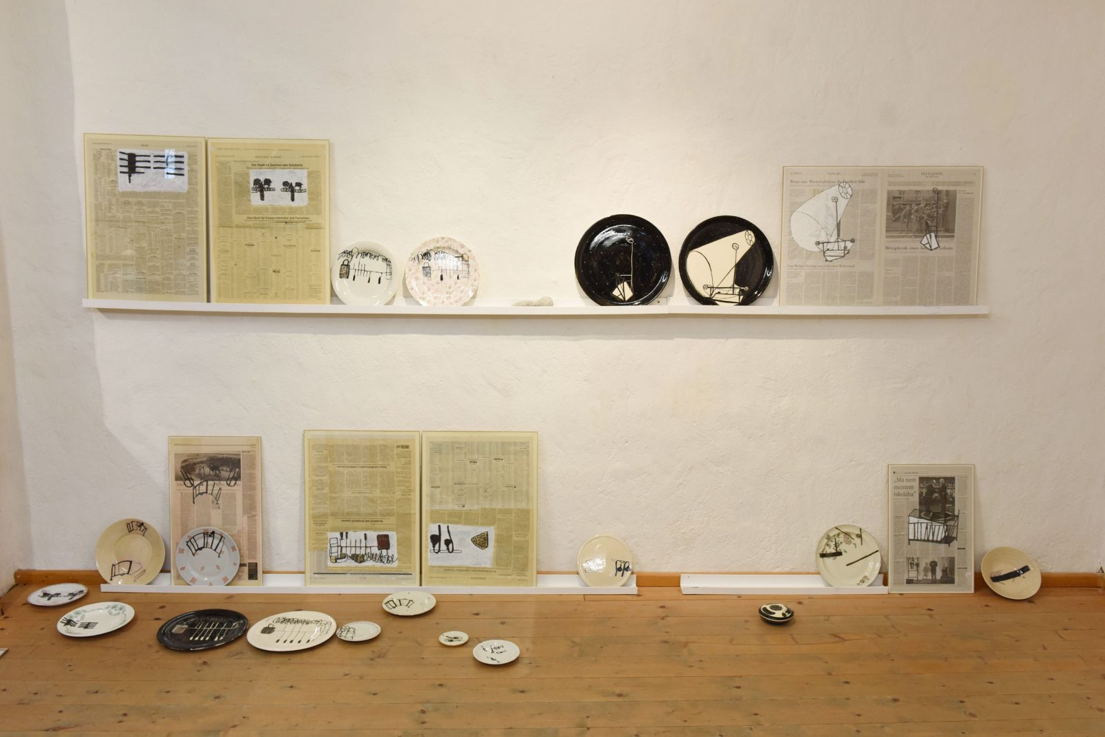 Kerstin Abraham –Tafelgeschichten –Galerie Metzger Gallery Keramik Gefäß Art ceramic