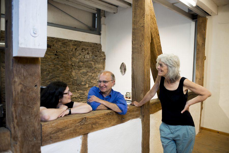 Xavier-Toubes-Blick in die Ausstellung