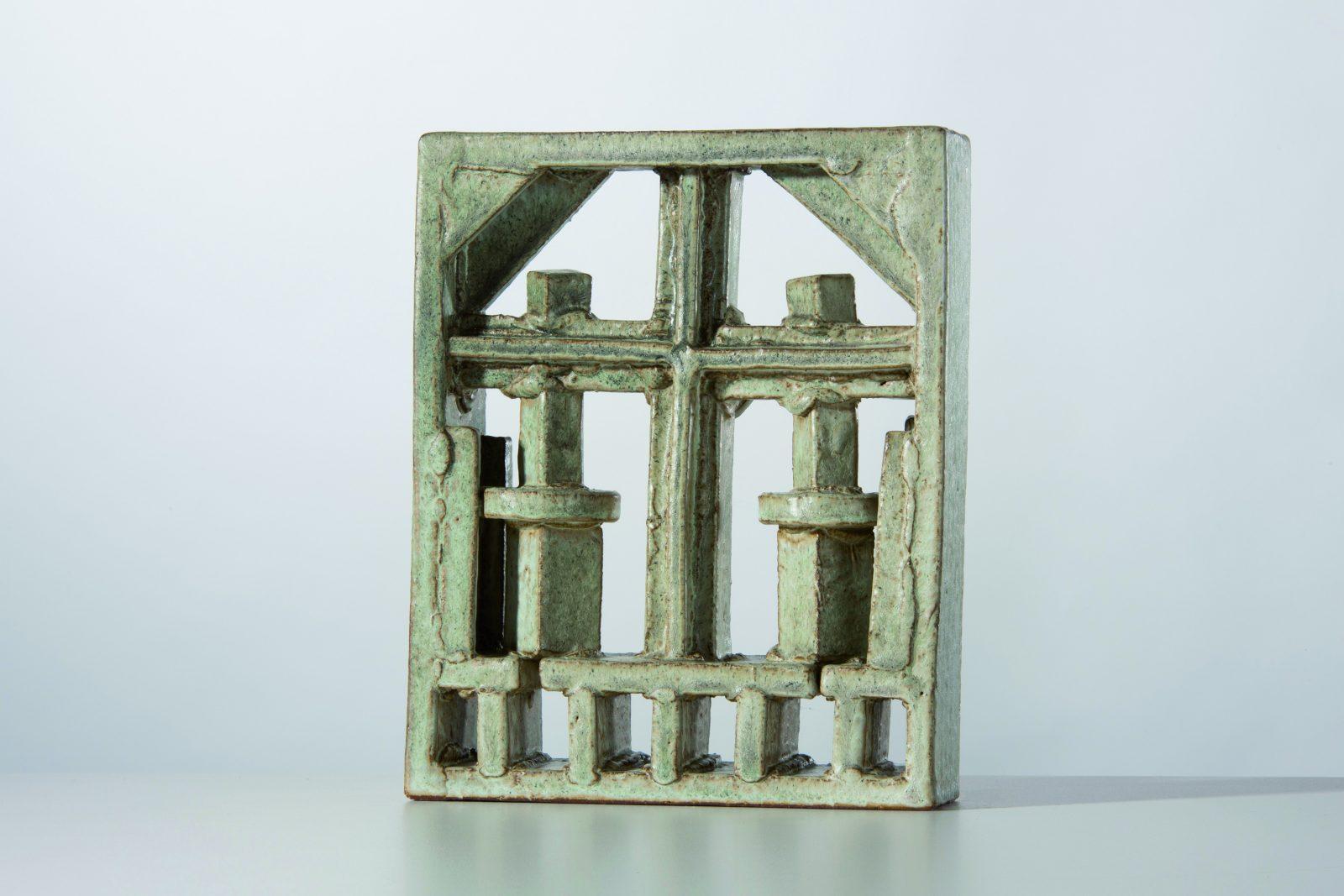 Franz Josef Altenburg – Rahmen –2014 –Gallery Metzger –sculpture ceramic Collect 2019 Saatchi gallery