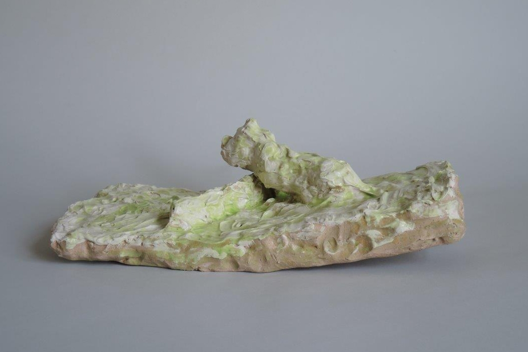 Hans Fischer –Tiefland –2018 –Gallery Metzger –sculpture ceramic Collect 2019 Saatchi gallery