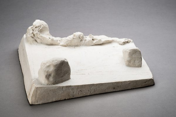 Klaus-Lehmann –2011-009 untitled –Gallery Metzger –sculpture ceramic Collect 2019 Saatchi gallery
