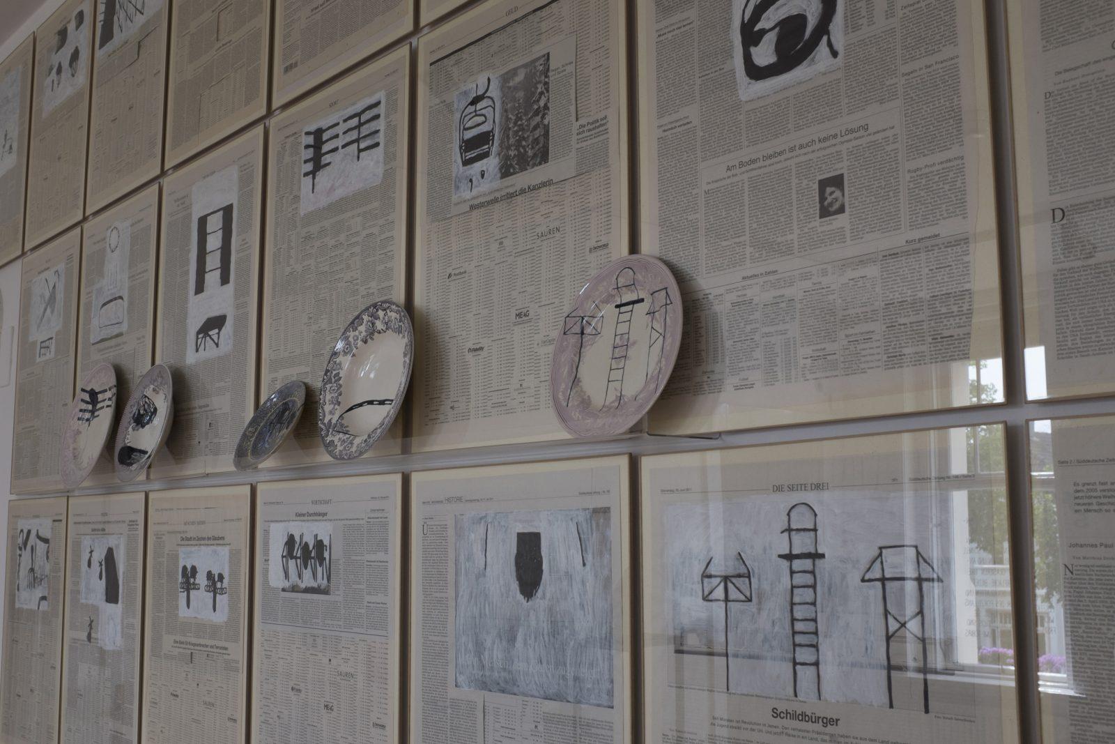Kerstin Abraham –Installation –Galerie Metzger, contemporary artworks gallery