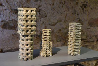 Franz Josef Altenburg –Raumansicht –galerie metzger keramik angewandte kunst sculpture bildhauer