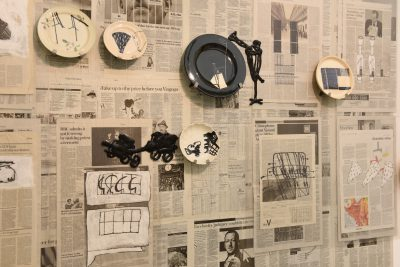 Kerstin Abraham-installative-work-2019-Saatchi Gallery