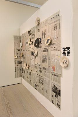 Kerstin Abraham-installative-work-2019 Saatchi Gallery