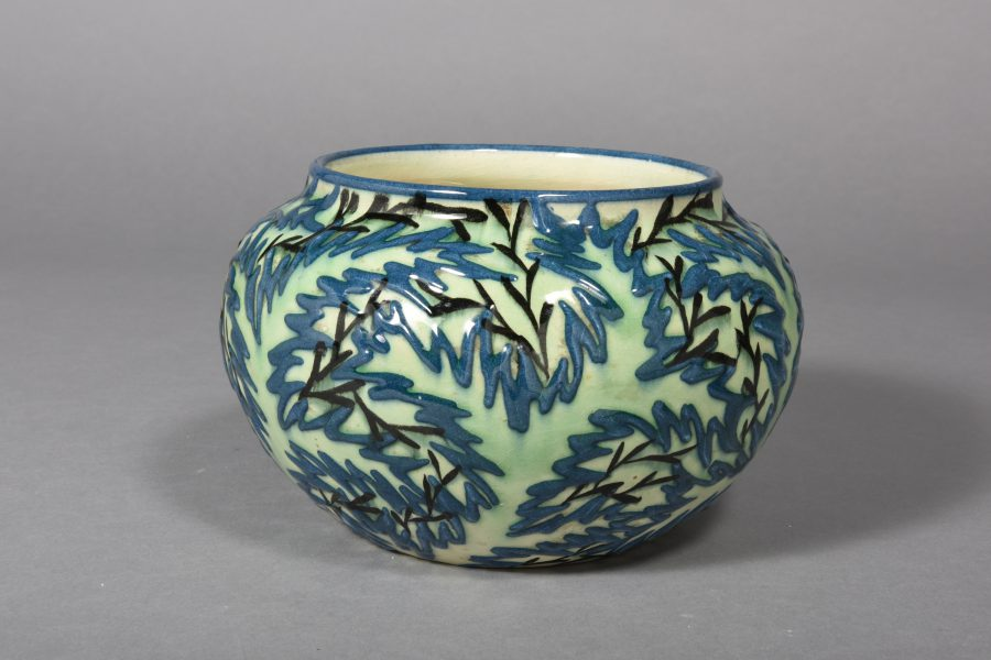 Max Laeuger – Gefäß – um 1921, 13×18 cm – galerie metzger ceramic angewandte kunst keramik