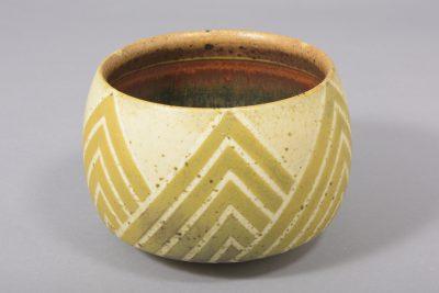 Ursula Scheid – Kummenform – 1988, 13×18 cm –galerie metzger angewandte kunst ceramic gallery