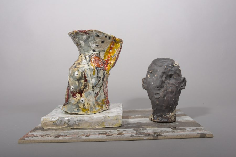 Xavier Toubes – Descriptions without a place 48 – 2019, 31,75x53x33 cm – galerie metzger art contemorary art ceramic sculpture