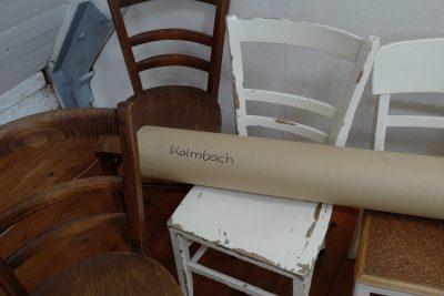 Michael Kalmbach –Ausstellungsaufbau –galerie metzger art zeitgenoessische kunst aschaffenburg
