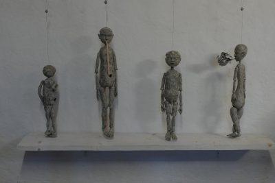 Michael Kalmbach –Blick in die Ausstellung –galerie metzger art zeitgenoessische kunst aschaffenburg