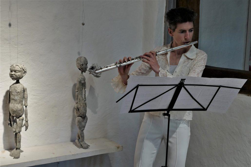 Michael Kalmbach, Marieke Franssen, Komposition Seyko Itoh –galerie metzger art kunst