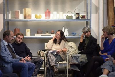 Galerie Metzger-round table discussion about the exhibition GefaessErweiterung-vessel keramik art contemporary objects