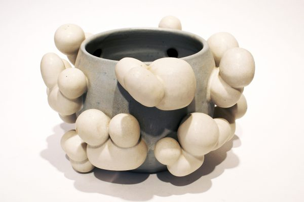 Beate Kuhn - Wolkengefaeß - about 2010, 17,6x29x27,5 cm