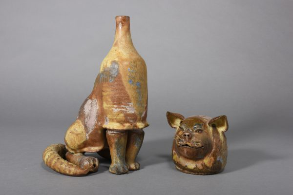 Kuhn Beate - Cat about 1960, 32x16x17cm