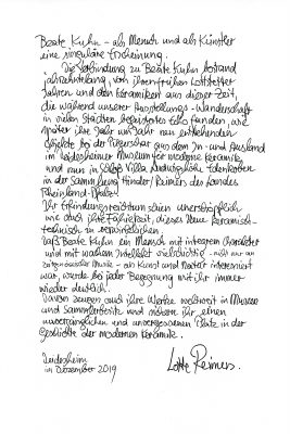 Text Lotte Reimers zu Beate Kuhn