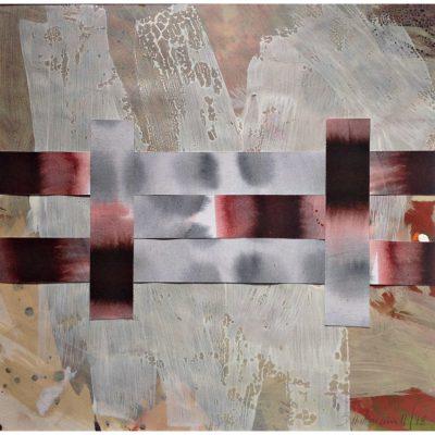 Claudia Spielmann - Collage - 2019 40 x 40 cm