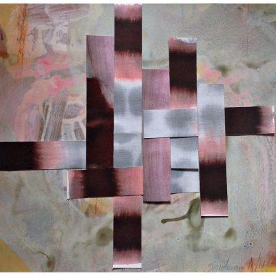 Claudia Spielmann - Collage - 2019 - 40 x 40 cm