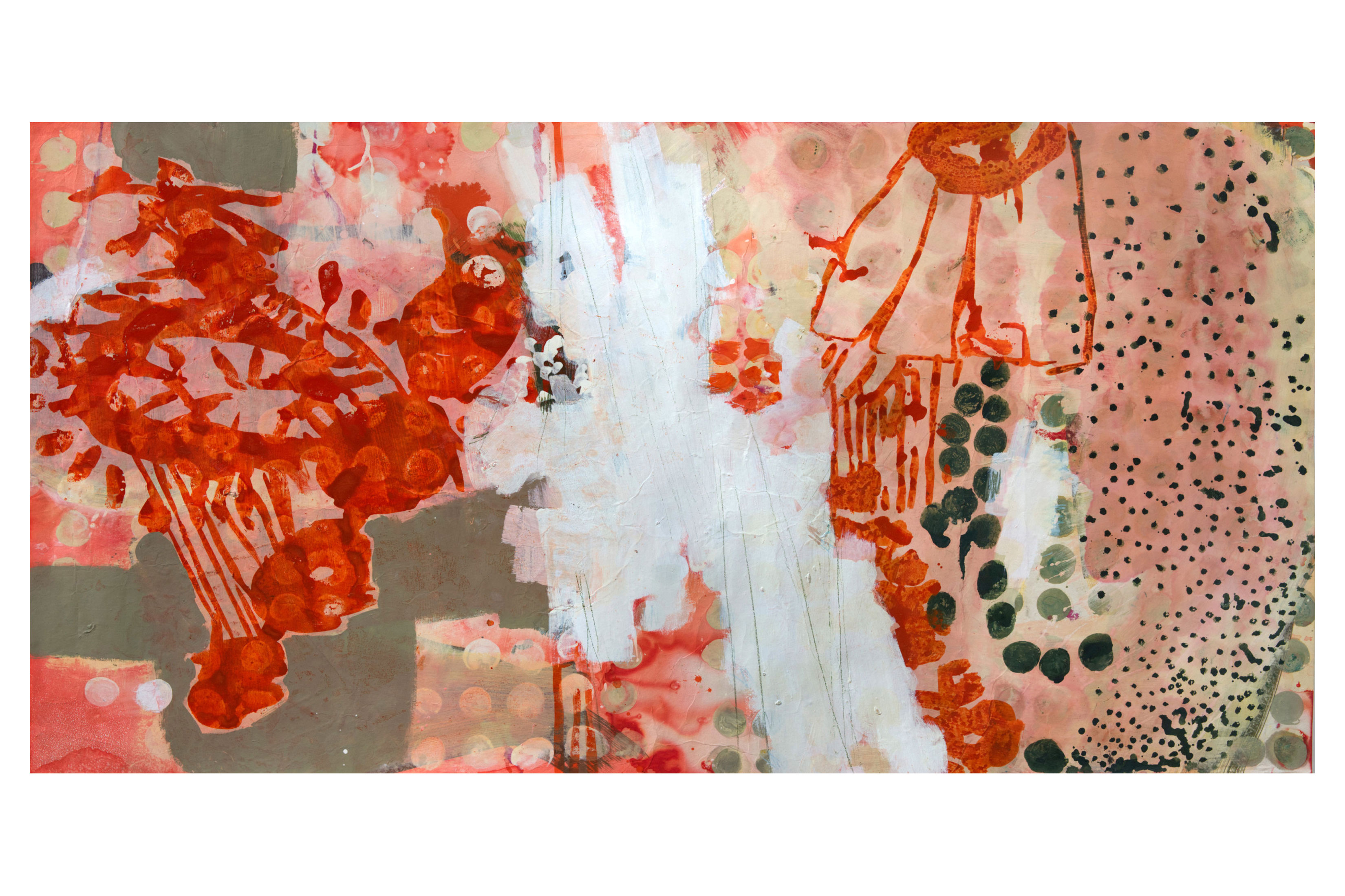 Claudia Spielmann –Landscape Orange –2020-Galerie Metzger Contemprary Art Ceramic Kunst Keramik Gallery
