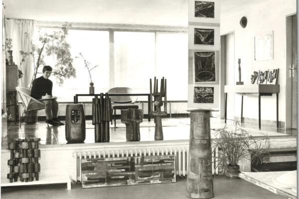 Beate Kuhn - Blick ins Atelier