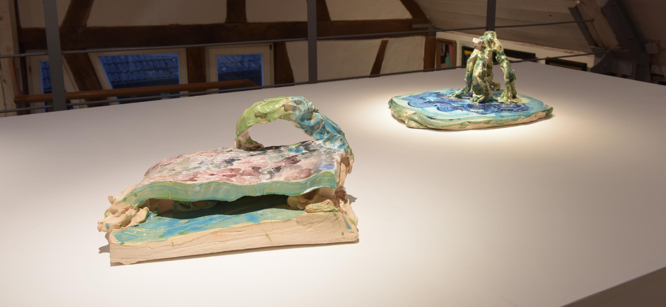 Norbert Prangenberg - Blick in die Ausstellung