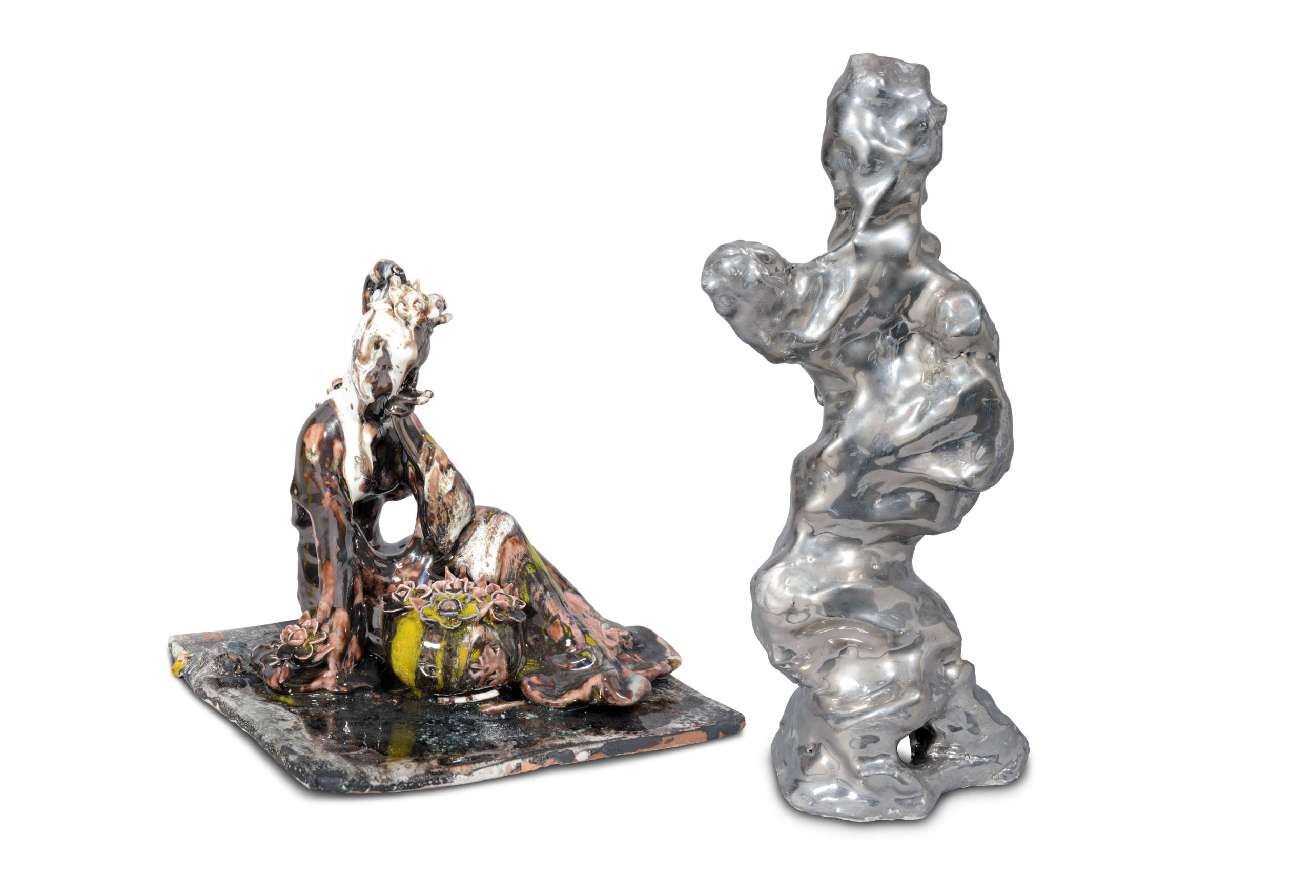 xavier toubes descriptions without a place –galerie-metzger –ceramic art object –keramik kaufen gallery plastische arbeit skulptur
